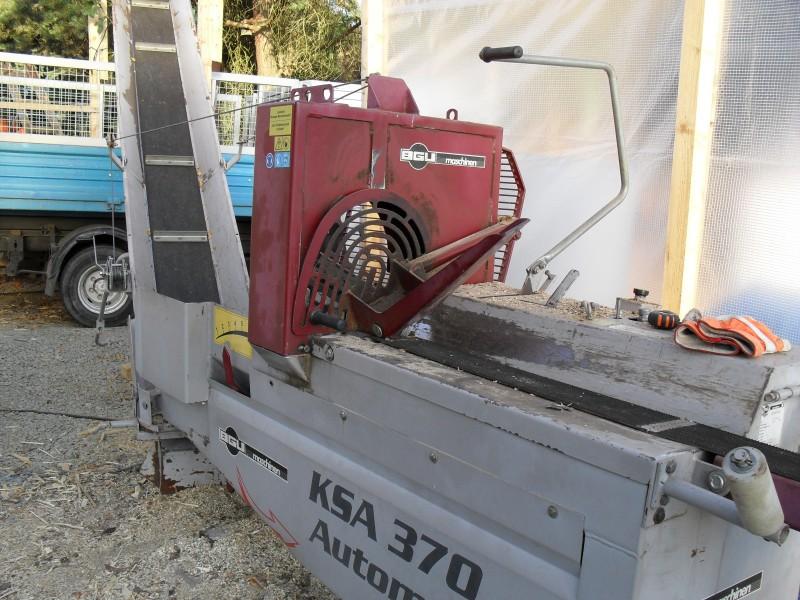 Řezací a štípací automat KSA 385 EZ